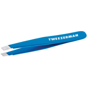 Mini Slant Tweezer – Bahama Blue