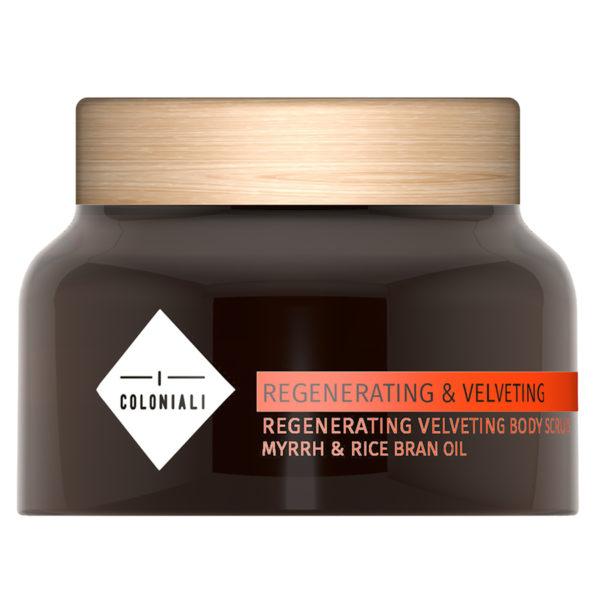 Regenerating & Velveting Body Scrub Myrrh