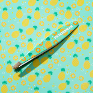 Mini Slant Tweezer – Pineapple Punch