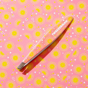 Mini Slant Tweezer – Pink Lemonade