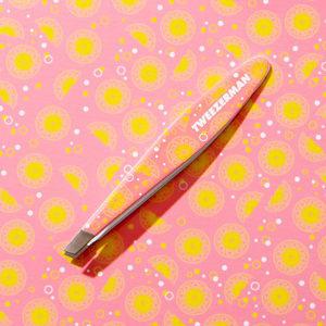 Mini Slant Tweezer Pink Lemonade