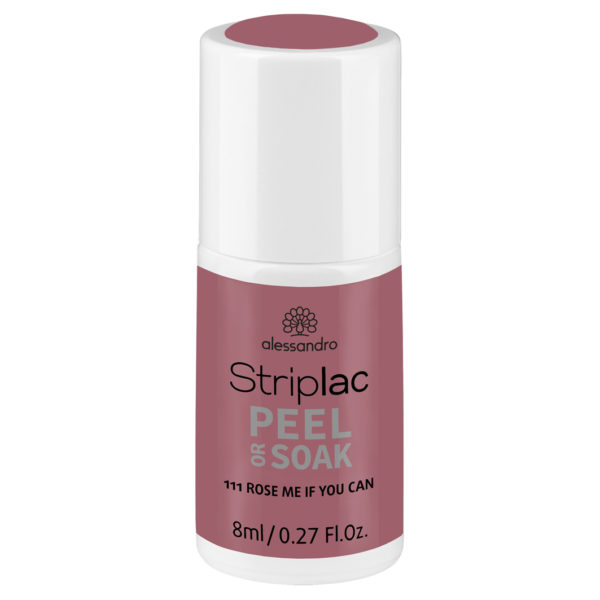 Striplac Peel or Soak – 111 Rose me if you can
