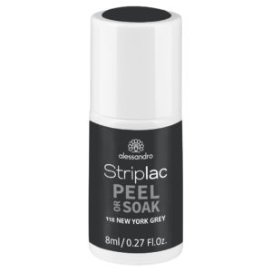 Striplac Peel or Soak – 118 New York Grey