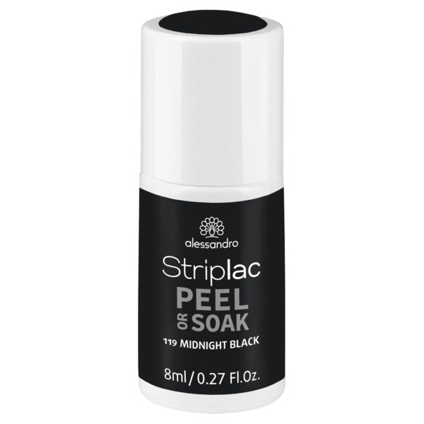 Striplac Peel or Soak – 119 Midnight Black