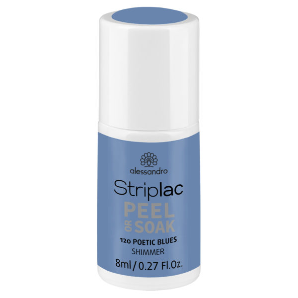 Striplac Peel or Soak – 120 Poetic Blues