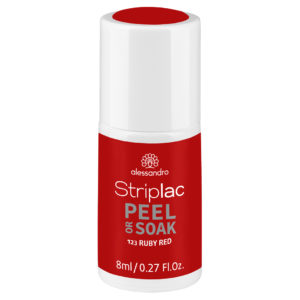 Striplac Peel or Soak – 123 Ruby Red