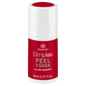 Striplac Peel or Soak – 124 Red Paradise