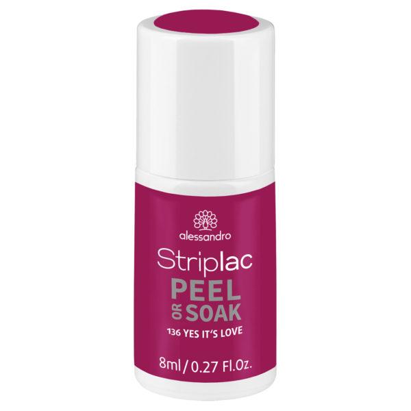 Striplac Peel or Soak – 136 Yes It's Love