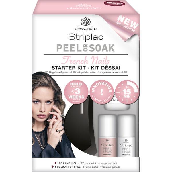 Striplac Peel or Soak Starterkit French Manicure