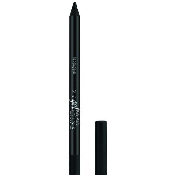 2-in-1 Gel Kajal + Eyeliner – 1 Black