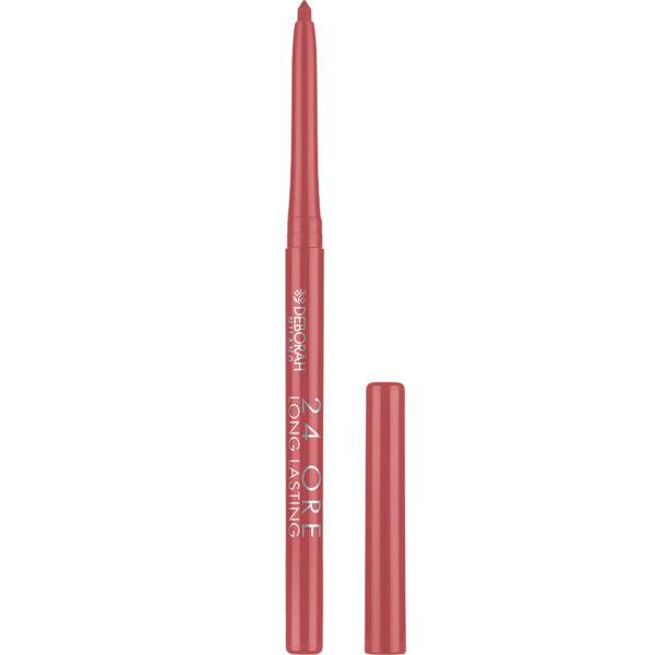 24ORE Long Lasting Lip Pencil – 5 Antique Rose