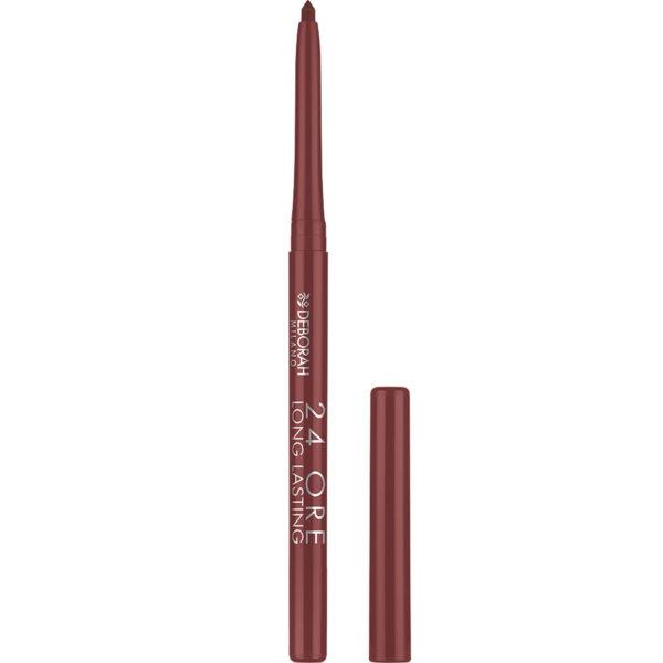 24ORE Long Lasting Lip Pencil – 6 Brown