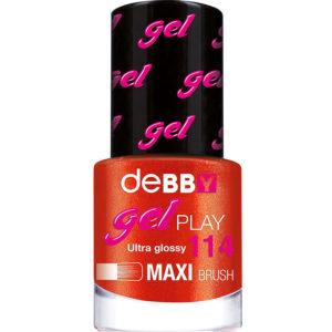 Gel Play Nagellak – 114 Metal Red