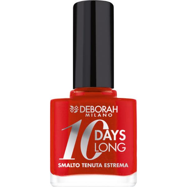 10 Days Long Nagellak – 39 Geranium Red