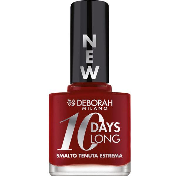 10 Days Long Nagellak – 16 Dark Red