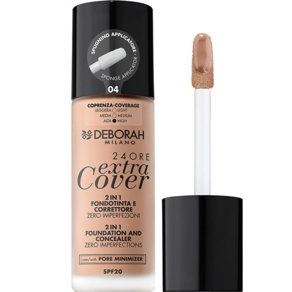 24ORE Extra Cover Foundation – 4 Apricot