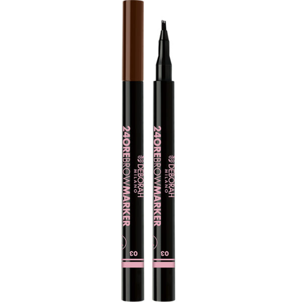 24Ore Brow Marker – 3 Dark Brown
