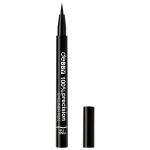 100% Precision Eyeliner Fine Pen – Black