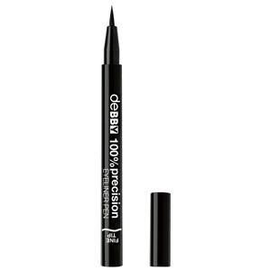 100% Precision Eyeliner Fine Pen – Black