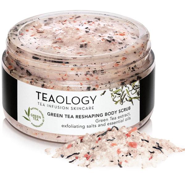 Teaology Green Tea Reshaping Body Scrub