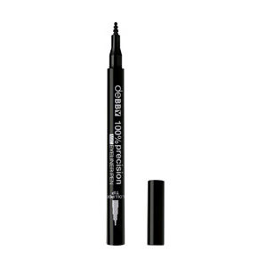 100% Precision Mat Eyeliner Pen Lollipop Tip – Black