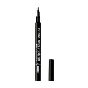 100% Precision Mat Eyeliner Pen Lollipop Tip – Black