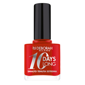 10 Days Long Nagellak – 39 – Geranium Red