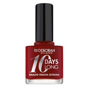 10 Days Long Nagellak – 16 – Dark Red