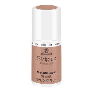 Striplac Peel or Soak – 108 Sinful Glow