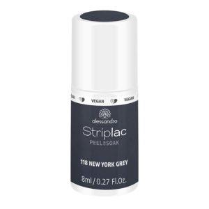 Striplac Peel or Soak – 118 New York Grey