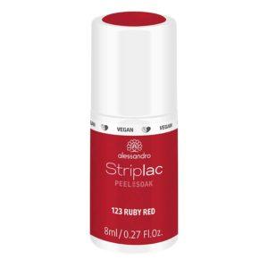 Striplac Peel or Soak – 123 Ruby Red