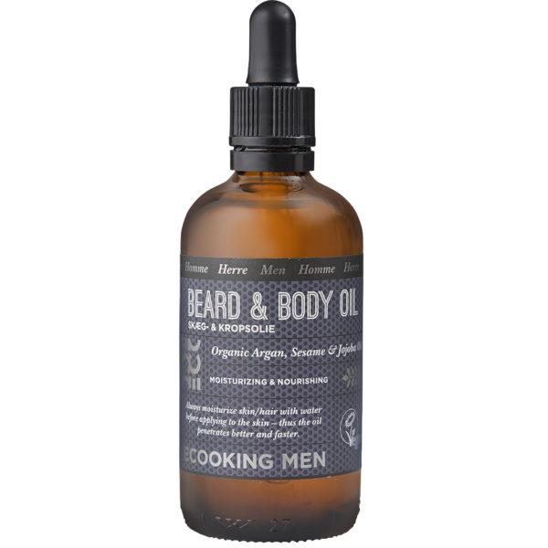 Men Beard and Body Oil