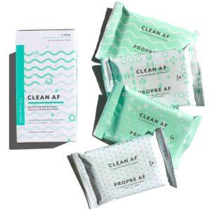 Clean AF wipes – 4-pack