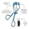 Wimperkruller – Bell Bottom Blue