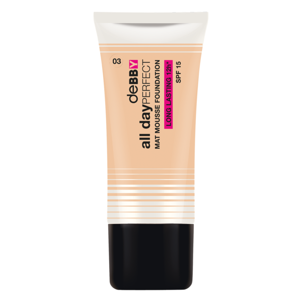All Day Perfect Foundation – 3 Natural