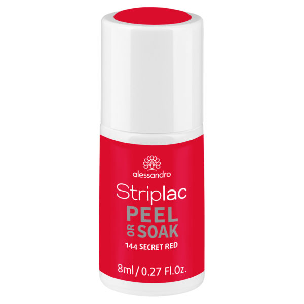 Striplac Peel or Soak – 144 Secret Red