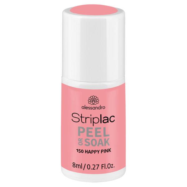 Striplac Peel or Soak – 150 Happy Pink