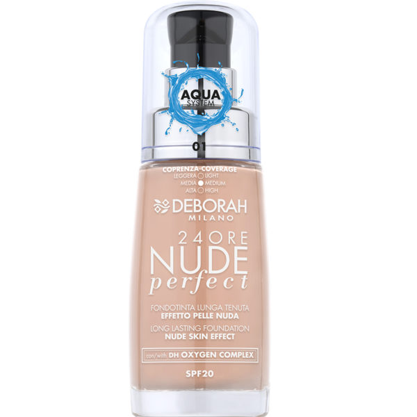 24Ore Nude Perfect Foundation – 1 Fair
