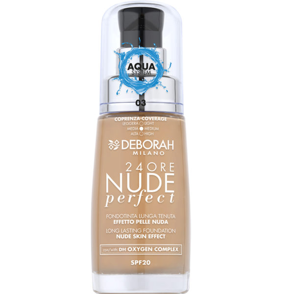 24Ore Nude Perfect Foundation – 3 Sand