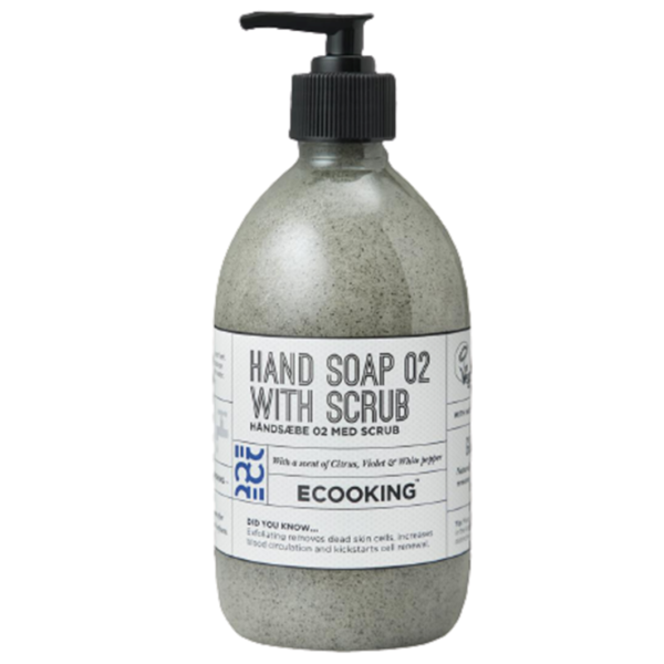 Ecooking Hand Soap with Scrub