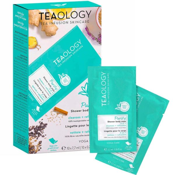 Teaology Yoga Line Shower Body Wipe Multi-Pack