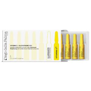 Vitamin C Brightening Anti-Wrinkle Shock Treatment Ampoules