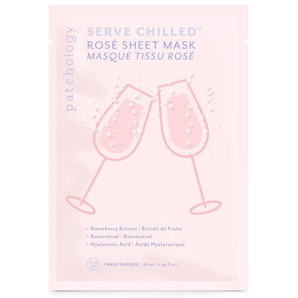 Serve Chilled Rose Sheet Mask – Single