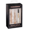 Rose Gold Petite Tweezer Set
