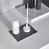 Piuma Brush + Base – Soft Pure White